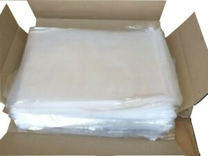 CLEAR Polythene Food Use FREEZER STORAGE Bags Strong Plastic Crafts Food Packing