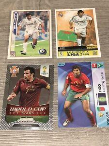Luis Figo Portugal Real Madrid Panini Prizm World Cup Stars 2014 06 03 04 Cards