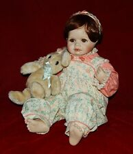 """Porcelain Doll """"Sara"""" Connie Derek Private Collection Sale 19"""" Beautiful Doll!"""