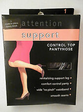 Control Top Pantyhose SUPPORT in Various Shades and Sizes NEW