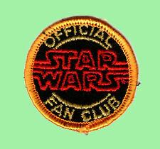Star Wars Fan Club Patch - Aufnäher - 80er Jahre