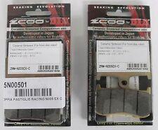 ZCOO 2 COPPIE PASTIGLIE FRENO ANT EX-C (WAVE DISC) TRIUMPH TIGER 1050 2007 2008