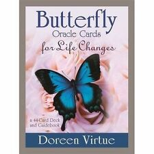 Butterfly Oracle Cards for Life Changes Virtue Doreen 9781401950033
