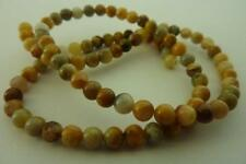 60 pce Round Crazy Lace Agate Gemstone Beads 6mm Jewellery Making Craft