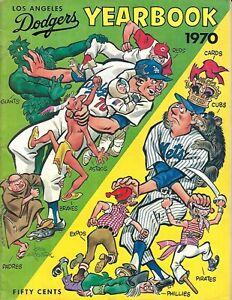 1970 Los Angeles Dodgers Yearbook Great Rookie Crop NICE!!