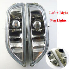 2PCS Universal Car Clear Front Bumper Driving Fog Lights 8122002030 8121002040