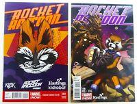 Marvel ROCKET RACCOON (2014) #1 HASTINGS + KidRobot VARIANT NM (9.4) Ships FREE!