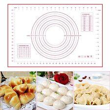 Gran Pastel Pasta Para Hornear Silicona Rolling Mat reposteria horno de arcilla Hoja del Trazador de líneas Cookie