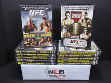 UFC 12 DVD Lot Full Force, Fury, Boiling Point, Heavy Hitters, Bitter Rivals