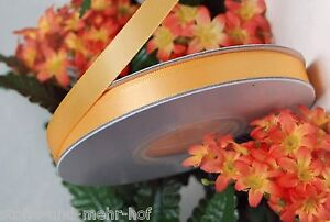 5m Satinband doppelseitig 6mm breit pfirsich (0,35€/m)