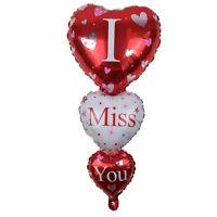 Palloncino pallone gonfiabile Cuori I Miss You cuore San Valentino festa party
