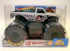 Hot Wheels Monster Trucks 1:24 V8 BOMBER Die Cast Metal Body NIP
