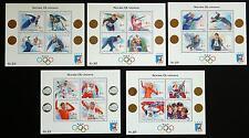Norwegen Norge Norway Block 12, 14, 16,17 & 19 alle MNH ** Kat. 40 Euro