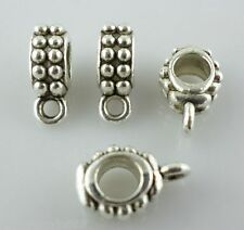 20pcs Tibetan silver Connectors Bail Charms Pendants  5*8*13mm