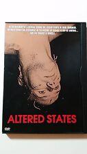 ALTERED STATES mind blowing DVD Sci-Fi evolution God the Devil creation nudity R