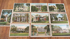 OLD Ten (10) Natchez Mississippi Postcard Curt Teich & Co~Never addressed/Posted