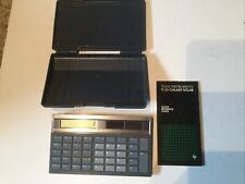 texas instrument calculator Ti-35 Galaxy Solar With Hard Case
