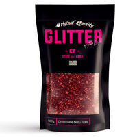 Red Premium Glitter Multi Purpose Dust Powder 100g / 3.5oz Cosmetic Face