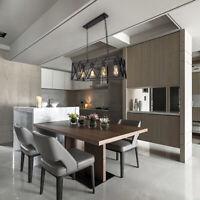 PZYIDA Industrial Kitchen Island Light Pendant Lamp Chandelier Ceiling Fixtures