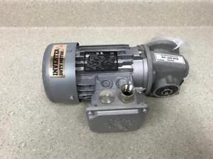 NORD 63L/4CUS GEAR MOTOR 3PH 1680RPM .25HP *NEW