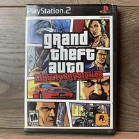 Grand Theft Auto Liberty City Stories ( PlayStation 2) PS2 -No Manual