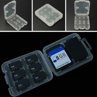 Double Layers Micro SD SDHC TF Memory Card Storage Box Protector Holder Case