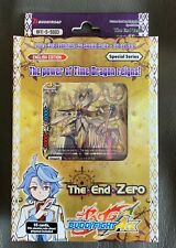 FUTURE CARD BUDDYFIGHT THE END ZERO TRIAL DECK TIME DRAGON BFE-S-SS03 (SEALED)