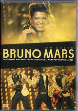DVD   BRUNO  MARS  2 SHOWS   NEW POP FESTIVAL 2011  BRAZIL CONCERT 2012  SEALED
