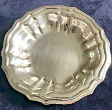 Antique 800 Silver Bowl Made In Italy