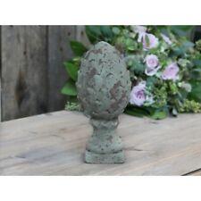 Chic Antique Zapfen  Antik Verte Shabby Vintage Brocante Garten Landhaus Klein