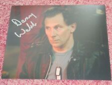 DANNY WEBB - DR WHO / ALIENS -10x8  PHOTO SIGNED. (53)