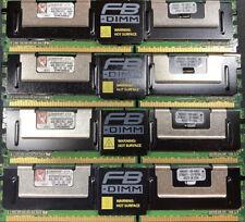 16Gig kit- 4x Kingston KVR RAM 4GB DIMM's 800 MHz DDR2 SDRAM (KVR800D2D8F5/4G)