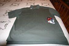 NWT TRU-SPEC Men's Performance 24-7 Green  Short Sleeve Polo Shirt SIZE XXL