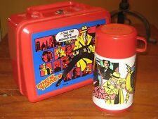 1990 Dick Tracy Lunch Box with Thermos