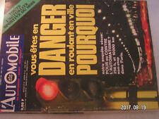 ** L'automobile magazine n°288 Citroën D Spécial / La moto à Daytona