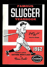 1962  Famous Slugger Yearbook   ROGER MARIS  Yankees   NEAR MINT