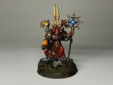Warhammer 40k Chaos Space Marines  - Exalted Sorcerer - Metal Painted Very Well