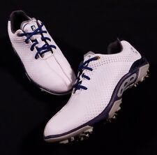 FootJoy Junior Golf White Soft Cleats Spikes Shoes Size 5 M Boys 45023