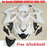 Unpainted Fairing Bodywork For Suzuki GSXR600 GSXR750 2001-2017 2001-2003 04-05