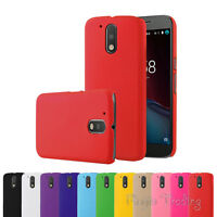 Tough Slim Matte Case Skin Protective Cover For Motorola Moto G4 / Plus / Play