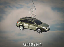 '15 '16 Subaru Outback Custom Christmas Ornament 1/64 Adorno 4 Dr Crossover SUV