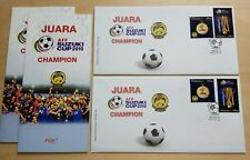 2011 Malaysia AFF Suzuki Cup 2010 Football Champion FDC variety covers KL Cachet