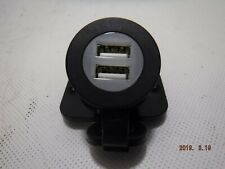 12VDUSB-B Marinco Dual USB Receptacle With mounting Plate and Screws B301