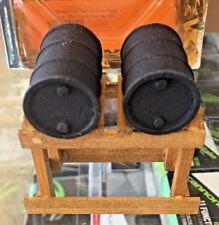 The Model Railyard #101 - Twin Oil Drum Rack Circa 1900-Present - Nos