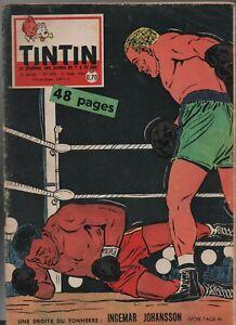 Journal TINTIN n° 593 du 17 mars 1960. Bel état - Couverture BOXE