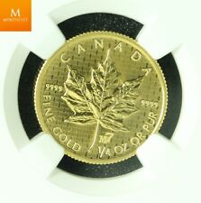 2005 Canada GOLD 10 dollar MAPLE LEAF M7 PRIVY NGC SP69 RARE!! MINTAGE 600