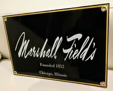 Marshall Field's Fields store nostalgia Chicago sign