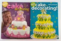 Lot of two WILTON Cake Decorating Yearbook Magazines 1998 1999