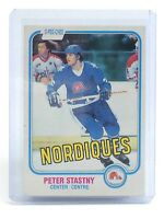 1981-82 Peter Stastny #269 Quebec Nordiques O-Pee-Chee Hockey Rookie Card I015