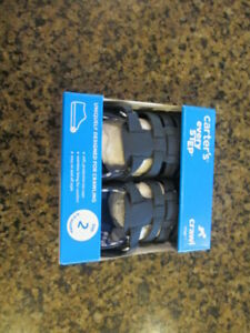 Carter's Addison blue Infant 2 Leather Sandals Crawl stage 1 NIB 6 to 9 months